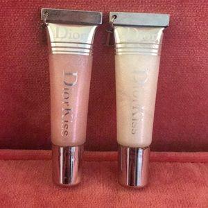 Brand new Dior Kiss lip gloss bundle!